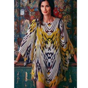 Anthropologie Leifsdottir Sarita abstract dress